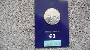 2021 Sir Walter Scott Brilliant Uncirculated £2 Coin. Pristine, Unmarked Cond