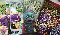 Beast Academy 3rd Grade 8-Book Set: 3A, 3B, 3C, 3D Guide and Practice Books
