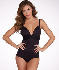 MAIDENFORM FIRM CONTROL WOMEN BODY BRIEFER SIZE 36B, STYLE #DM1008, SMOOTH BLACK