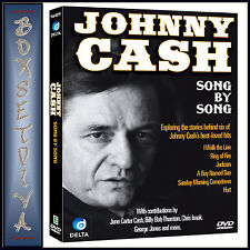 JOHNNY CASH - SONG BY SONG  **BRAND NEW DVD**