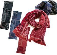 "Kapital Capital Milling Wool Muffler ""Bandana Patchwork"" Scarf 3colors Japan New"