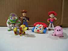 LOT OF 6 DISNEY TOY STORY BUDDY PACK PVC FIGURES CHATTER TELEPHONE HAMM SLINKY