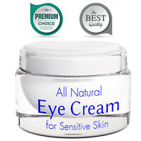 Eye Cream for Wrinkles with Retinol Anti Aging Brightening Cream 100% NATURAL