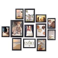 12 Piece Multi-Picture Collage Photo Frame Frames Aperture Art Deco Wall Set