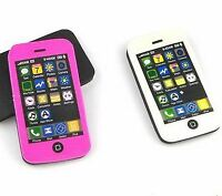 2 X iphone Rubber Erasers Back To School Stationary Novelty Party Bag Fillers