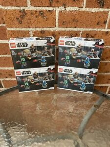 Brand New LEGO Star Wars Mandalorian Battle Pack (75267)@ 4sets Combo