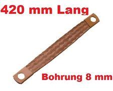 Motor Masseband 420 mm 21 qmm 80 A Motormasseband Massekabel Kupferband