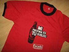 Escudo Beer Tee - Mi Propina Es Tu Sueldo Cerveza Chile Bartender T Shirt Large