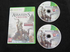 XBOX 360 : ASSASSIN'S CREED III 3 - Comp Xbox One ! Versione PAL UK inglese