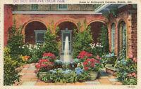 Postcard Bellingrath Gardens Mobile Alabama