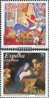 Spanien 3671-3672 (kompl.Ausg.) postfrisch 2001 Weihnachten
