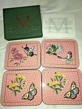 Metropolitan Museum of 4 Coasters by Jason ~ Chinese Butterflies