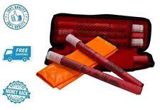 New Orion Safety Product 20min Flares with Orange Vest Travel Roadside Emergency