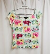 CPW Women's Sleeveless Blouse,Size L. Made In U.S.A. Preowned.