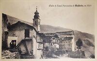 Cartolina - Valle di Susa - Parrocchia di Maffiotto - 1920 ca.