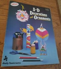 Crafting Early Childhood Teacher 3-D Decorations & Ornaments by Judy/Instructo