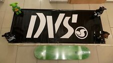 DVS Skateboard Schuhe Shoes Footwear Banner Poster Black 02 Powell Independent