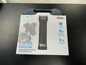 NEW! Wahl 5-IN-1 Adjustable 5 Style Groom Cordless Grooming Convenience
