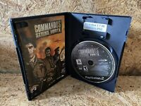 Commandos Strike Force (PS2) PlayStation 2 FPS Military Action Game Tested Works
