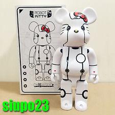 Medicom 400% Bearbrick ~ Action City x Hello Kitty Be@rbrick Robot Kitty White