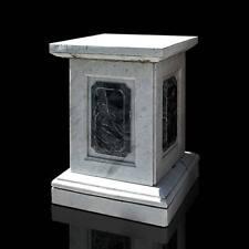 Basamento Colonna Classica in Marmo Carrara Marble Classic Column B.60cm H.80cm