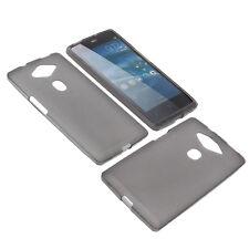 Tasche für Acer Liquid E3 Handytasche Schutz Hülle TPU Gummi Case Grau