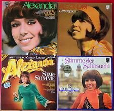 4 LP`s Alexandra Unvergessen Star und Stimme Ihre großen Erfolge Stimme der Se