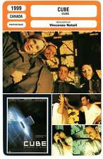 FICHE CINEMA : CUBE - N.de Boer,V.Natali 1999