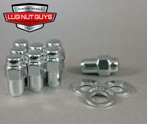 """20 Lug Nuts 1/2"""" Chrome Mag Wheel Nut .75 Shank Cragar"""