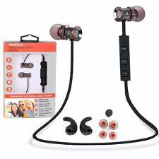 Metal In-Ear Wireless Sports Bluetooth Stereo Headphone Earbuds Headset Earphone