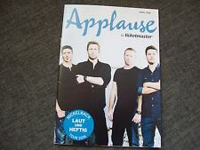 Applause by ticketmaster Magazin 04/2016  Cover&Story Nickelback and others