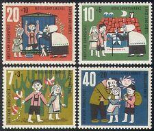 Germany 1961 Fairy Tales/Children's Stories/Hansel & Gretel/Cat/Books 4v n25424