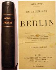 BERLIN/HURET/CHARPENTIER/1913/EO/ALLEMAGNE/VIE NOCTURNE