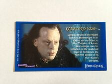 Lord Of The Rings - Bassett / Barratt Trading Cards - Grima - Cigarette Cards