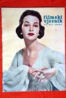 TAINA ELG FINNISH ON COVER 1958 VERY RARE EXYU MAGAZINE