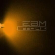 10 pz led FLAT TOP gialli alta luminosità 6.000 mcd 5 mm ART. AH07