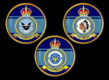 Eagle Squadrons (71, 121, 133) Set Royal Air Force (RAF) ® Lapel Pin Badges