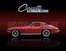 1965 Corvette Sting Ray Print