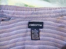 SHIRT ~ CLAIBORNE Mens Medium ~ Long Sleeves, 55% Cotton w/ Extra Button