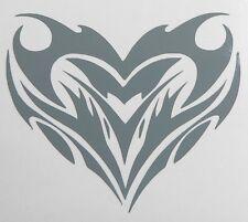 adesivo Cuore sticker decal vynil vetro auto moto scooter heart love amore
