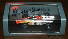 SPARK Bobby Unser signed Eagle MK3 Indy 1967 Indy 500 1/43 Resin Car