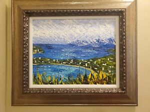 Alexandre Renoir Original Painting St Kitts