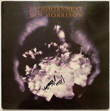 """VAN MORRISON HAND SIGNED 12"""" VINYL LP - ENLIGHTENMENT - PROOF."""