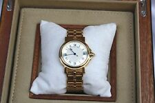 MAGNIFICENT 18K GOLD BREGUET AUTOMATIC MENS HORLOGER DE LA MARINE WATCH, BOX