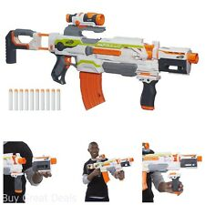 Gun Blaster Darts Nerf N Strike New Modulus ECS 10 Play Game Fun