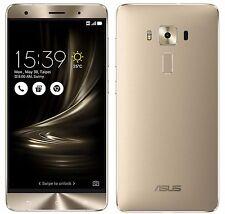 """ASUS ZenFone 3 Deluxe ZS570KL Gold (Factory Unlocked) 64GB 5.7"""" HD 6GB RAM"""