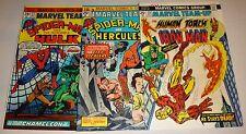 Marvel Teamu Up # 27,28,29 Hulk Starlin Cover 8.5/9.0
