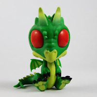 "Cryptkins ""They Do Exist!"" Series 2 Vinyl Figure - GREEN DRAGON"