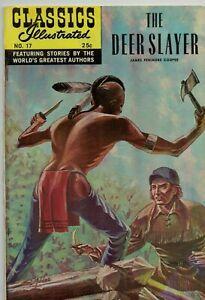 Illustrated Classics Comic No.17  (1971) The Deer Slayer