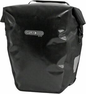 Ortlieb Back-Roller City Rear Pannier: Pair Black